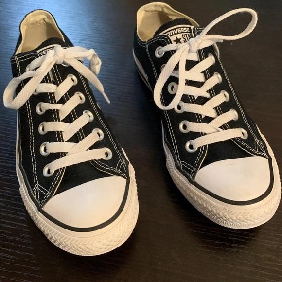 Converse Shoes | Black Converse Size 5
